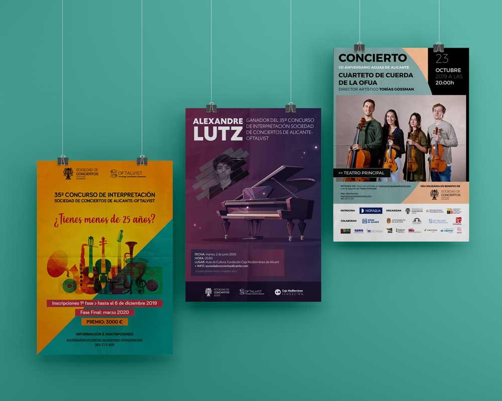 publicidad carteles posters videon comunicacion